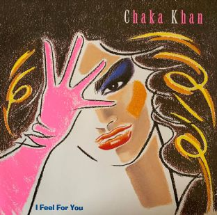 Chaka Khan ‎- I Feel For You (LP) (EX-/VG-)